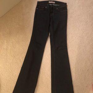 J Brand wide legged jeans